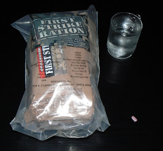 MRE Review: First Strike Ration Menu 2 in bag