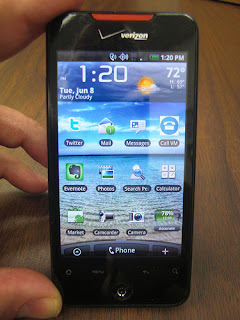 The Verizon HTC Incredible