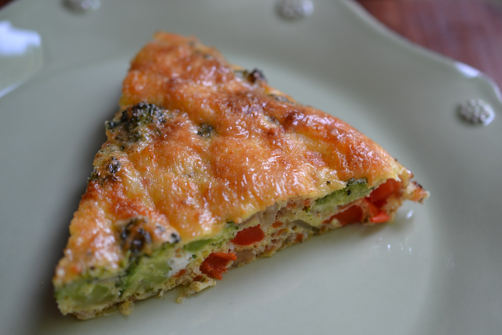 Feed Your Genes: Cheesy Crustless Veggie Quiche
