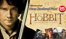 New Zealand Post special partner di Tolkieniano