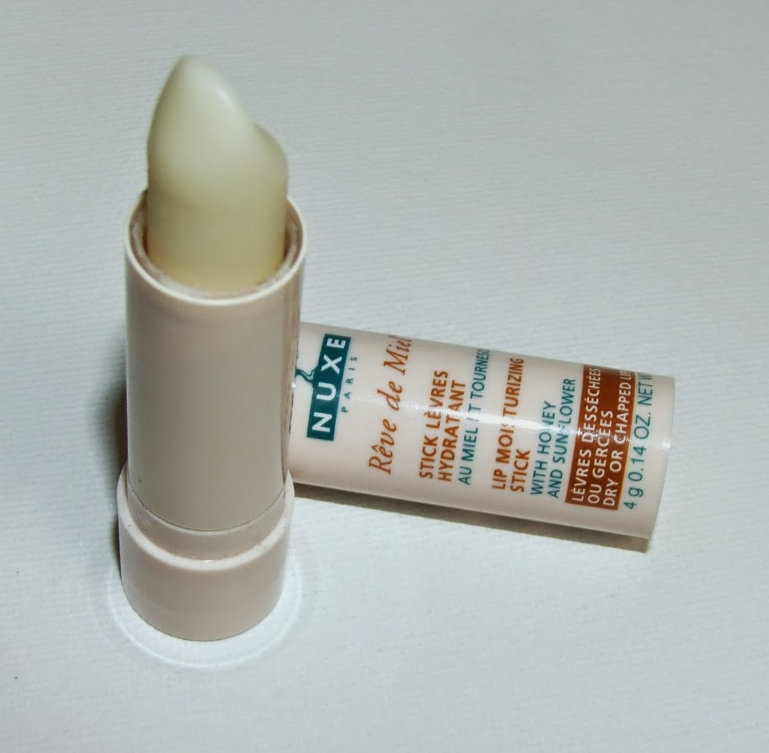 Nuxe rev de miel stick lip balm