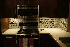Glass Mosaic Kitchen Splash II