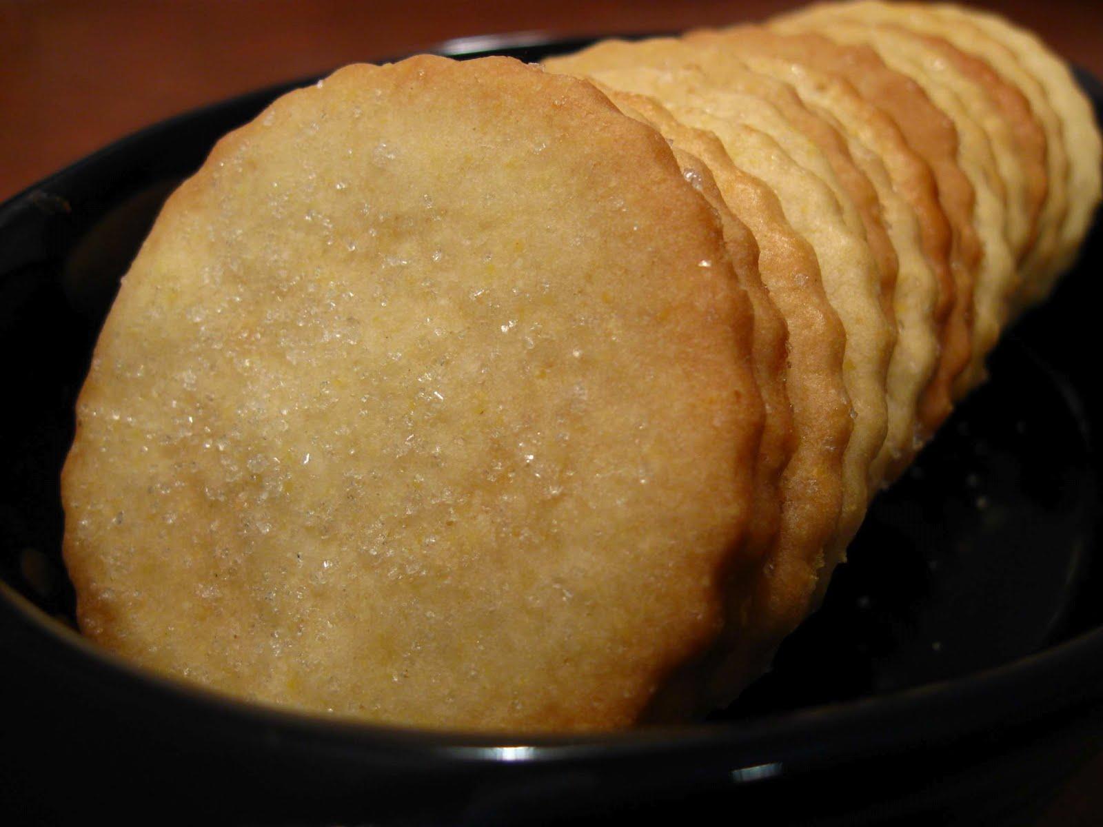 Cooking From Scratch: Lemon Cornmeal Crisps