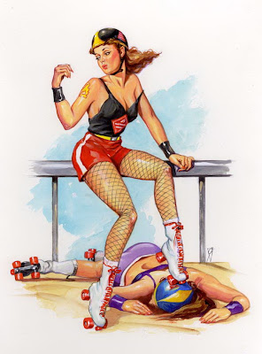 Bill Garland pin up