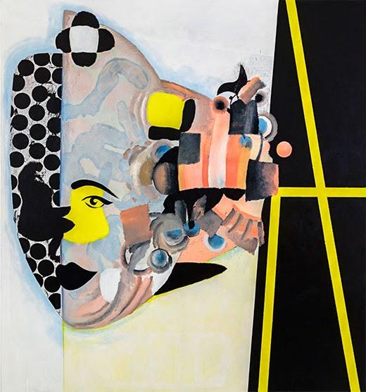 "Michael Ovitz Family Collection: ""Carlotta"" (2013), by the German-born, American-based painter Charline von Heyl"