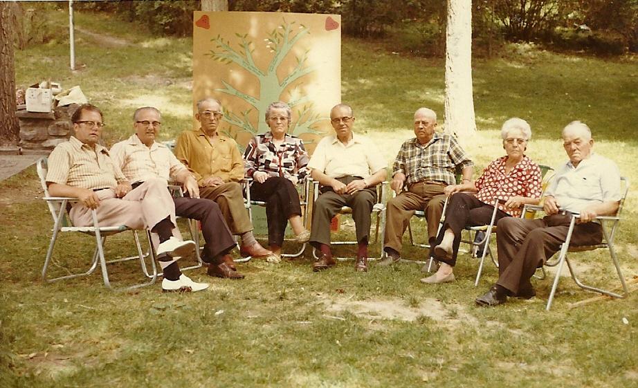 Billy Wardle Genealogy William Haston And Anne Sorenson Wardle Reunion 1968