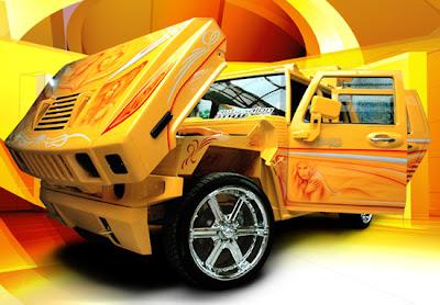 gambar mobil modifikasi terbaik