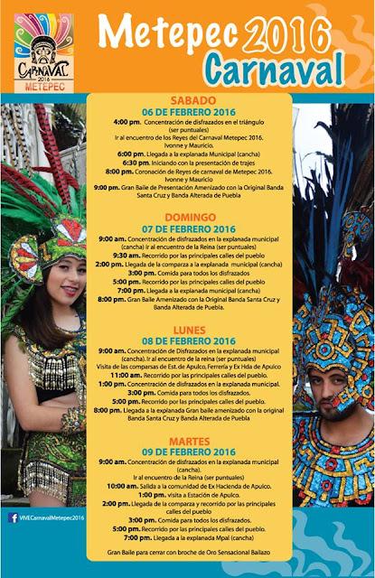 carnaval metepec 2016