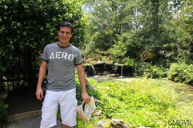 fashion blogger, cmgvb, como me gusta vivir bien, Kanapaha Botanical Gardens, garden, flowers, Gainesville