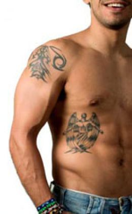 Men tattoo design