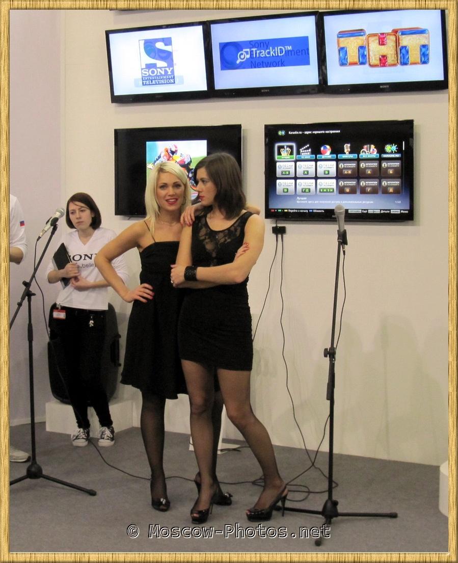 Promotional Models on Photoforum 2012
