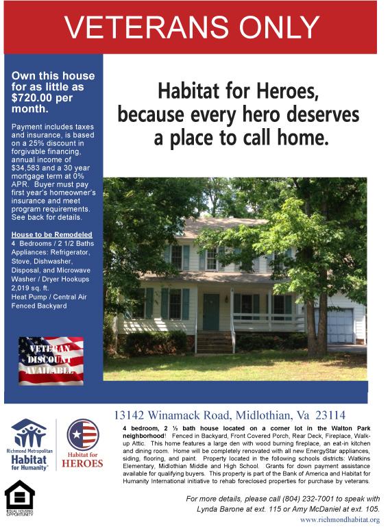 Habitat For Heros