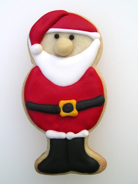 Santa Cookie at The Ginger Cookie