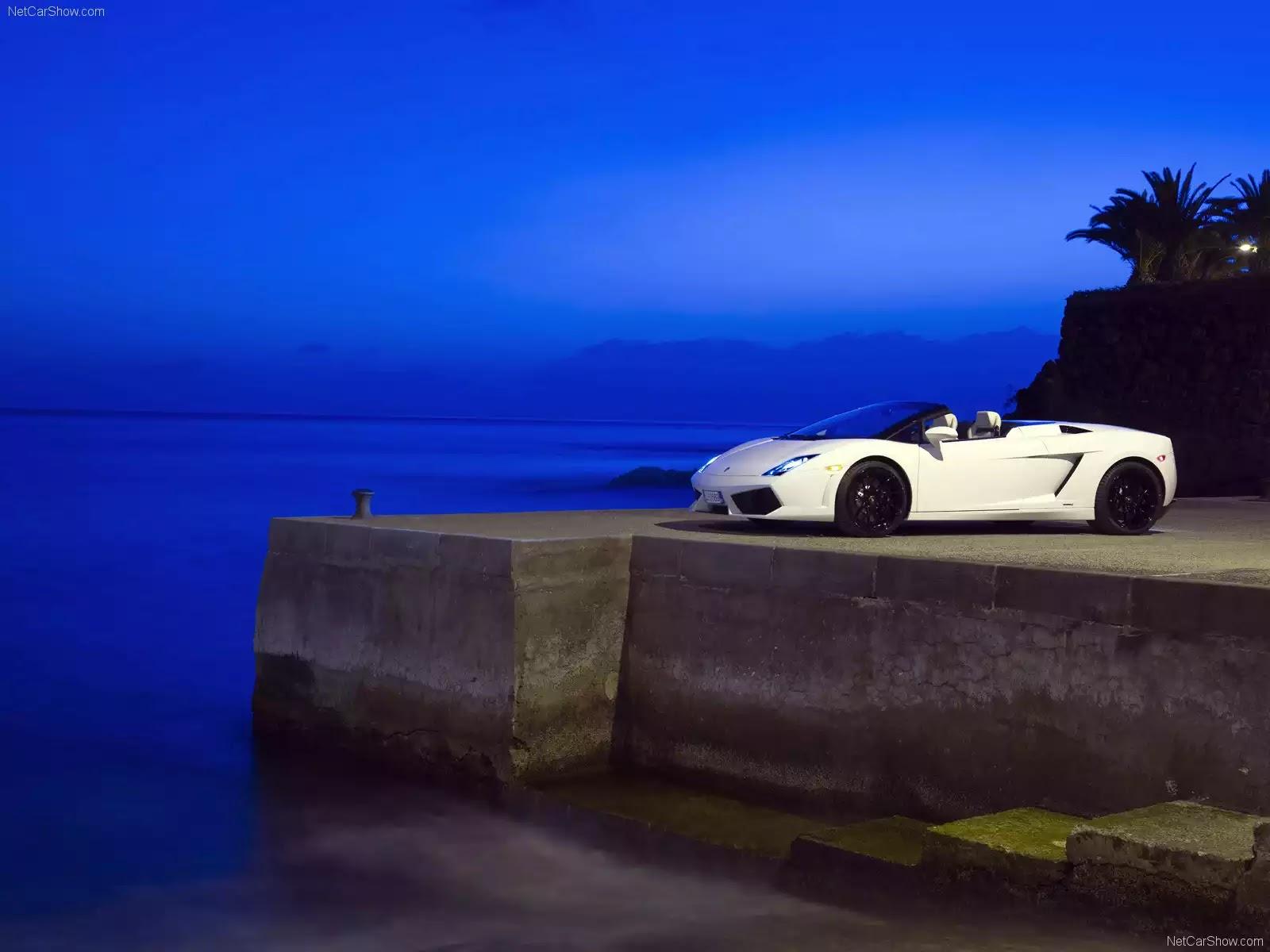Hình ảnh siêu xe Lamborghini Gallardo LP560-4 Spyder 2009 & nội ngoại thất
