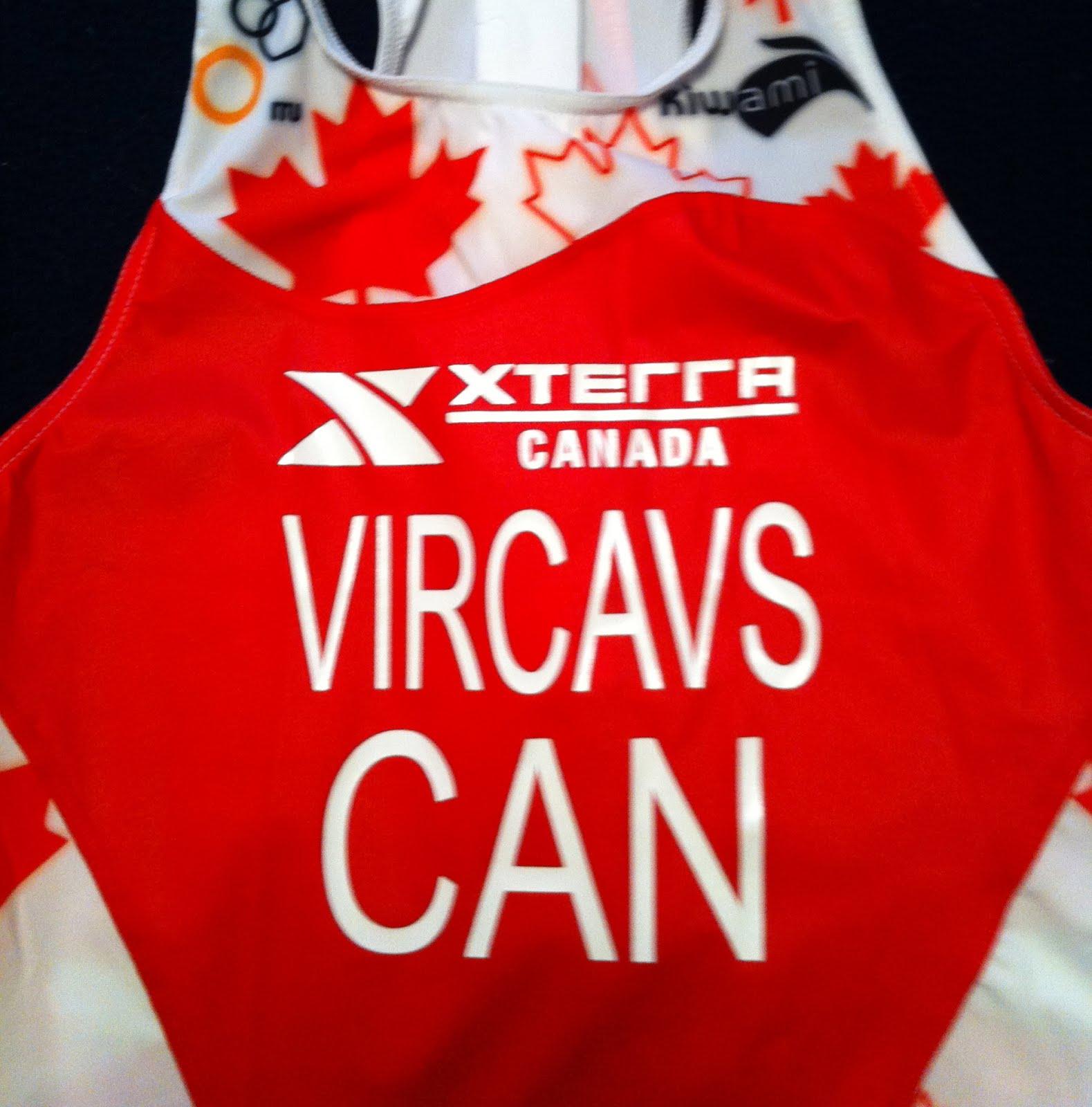 Race Kit for Xterra WC 2012