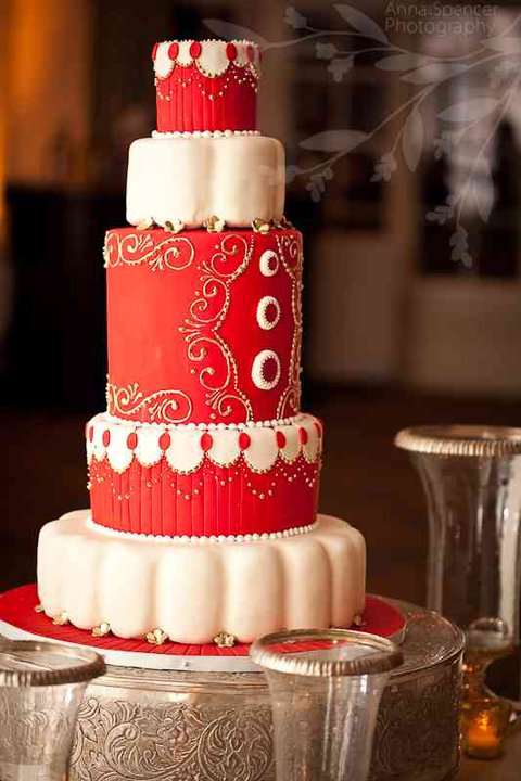 Kim And Kroy Wedding Cake