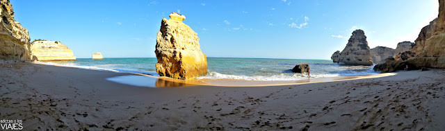 Praia da Marinha, la mejor playa del Algarve