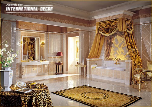 How to design luxury bathroom in classic style - Banos de lujo modernos ...
