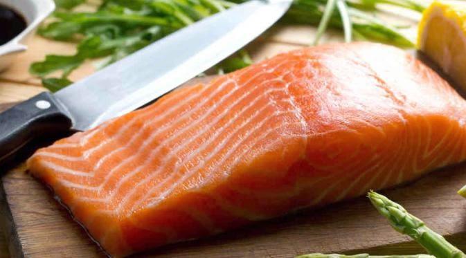 Ikan salmon untuk kesehatan Rambut