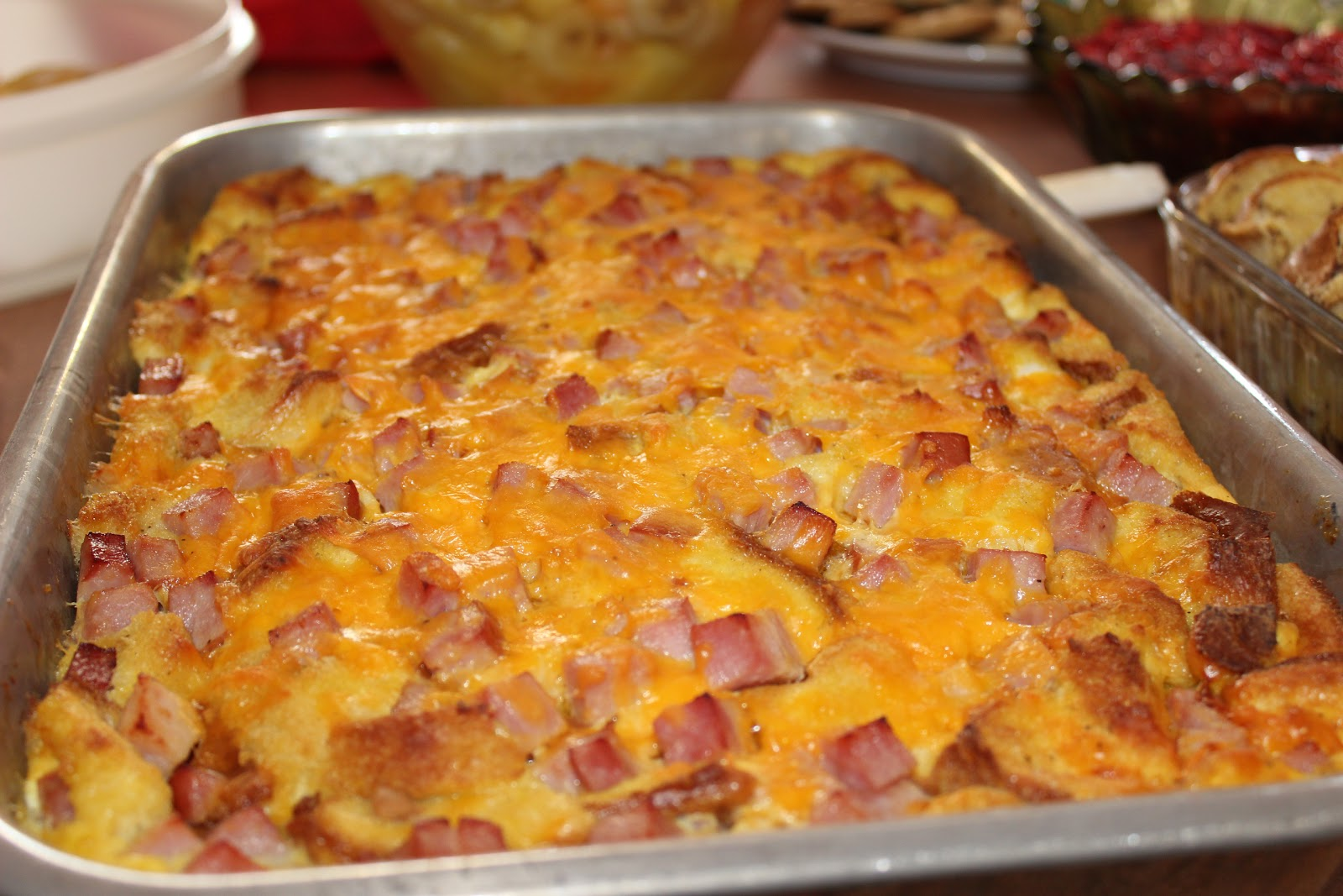 The Cookbook Project: Ham and Egg Bake