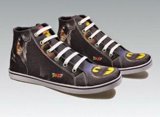 sepatu anak ironman