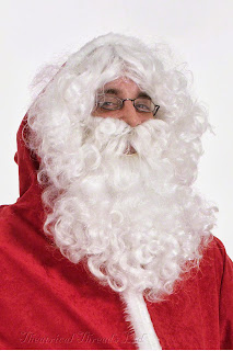Father Christmas Wig, Beard & Gloves set from Theatrical Threads Ltd