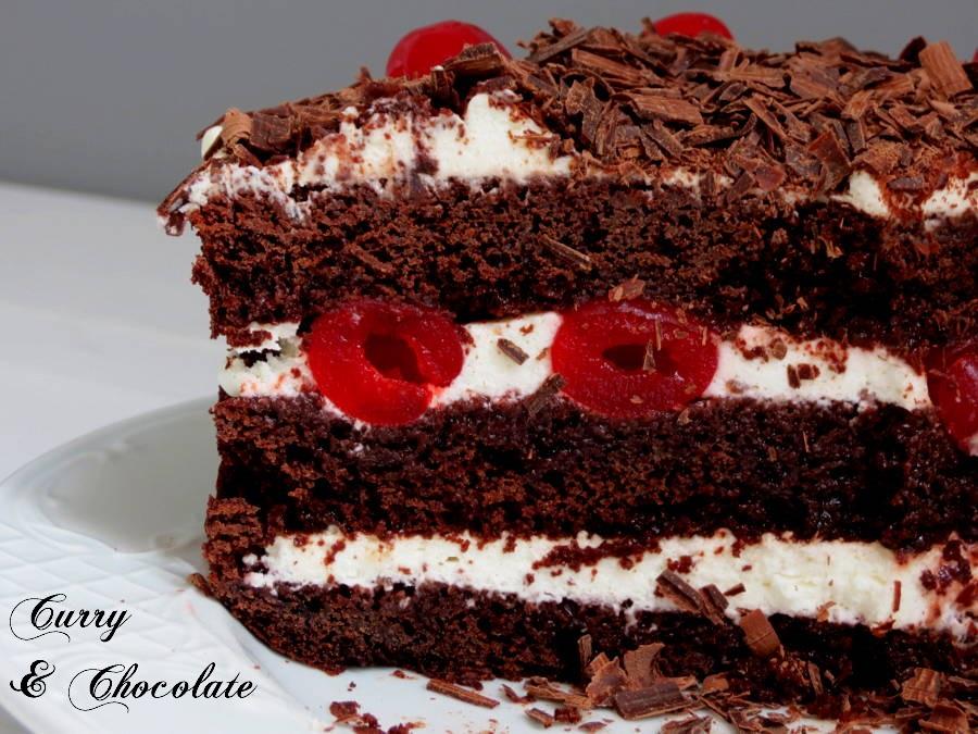 Tarta Selva Negra – Black Forest Cake