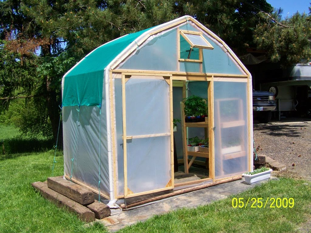 mini greenhouse diy