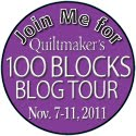 100 Quilt Blocks Blog Tour