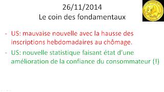 bourse analyse technique actualités 26/11/2014