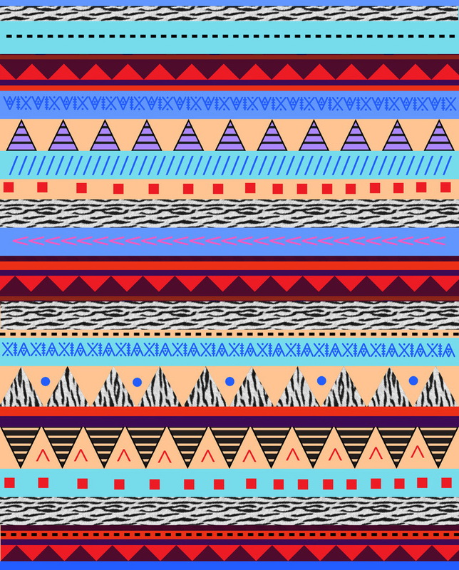 The gallery for --> Colorful Tribal Patterns Tumblr