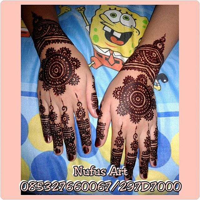 Katalog Henna Pernikahan Nufus Art Face Painting Henna Body