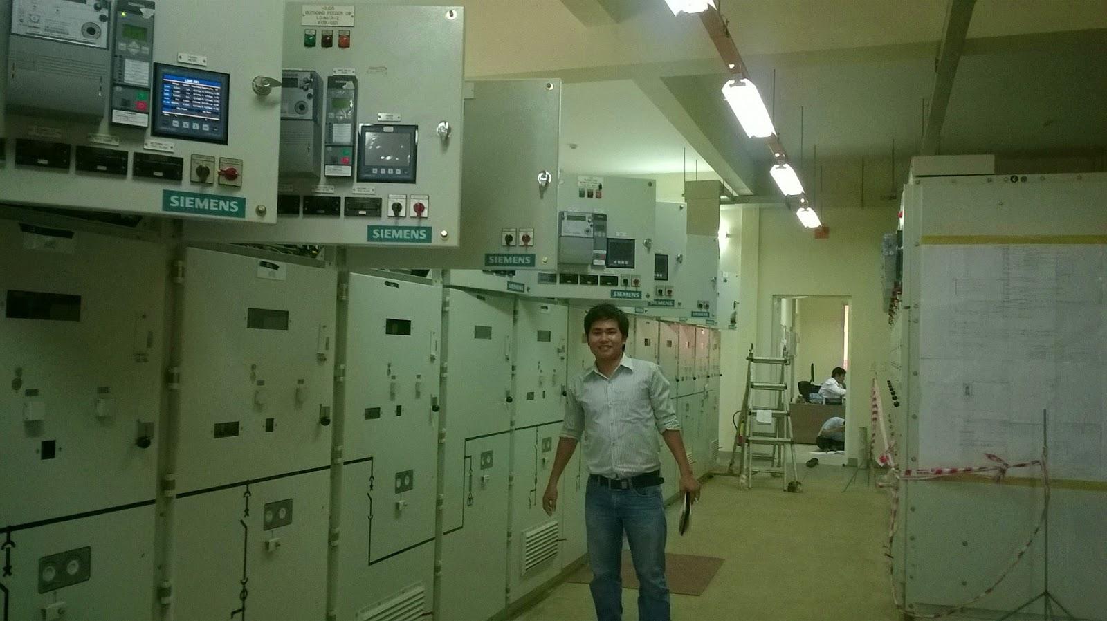 Thi công hệ thống giám sát năng lượng