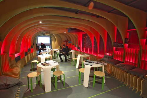 Martian Embassy Centre in Sydney, Australia by LAVA