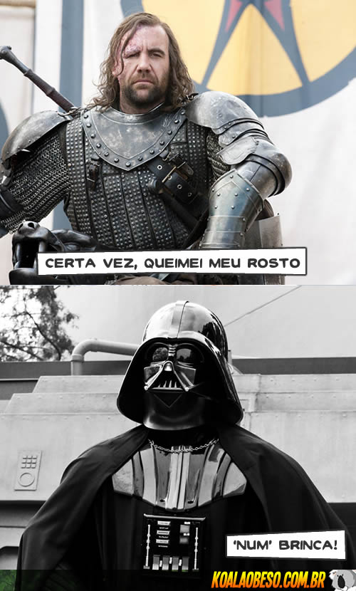 Star Wars X Game of Thrones - Clegane X Dart Vader