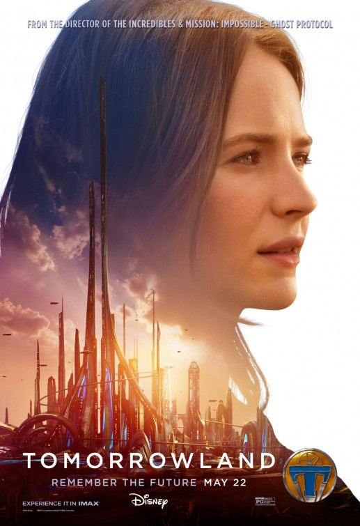 Tomorrowland Casey Newton movie poster
