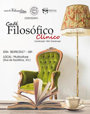 Café Filosófico Clínico. No último sábado de cada mês em Porto Alegre. Bem vindos!