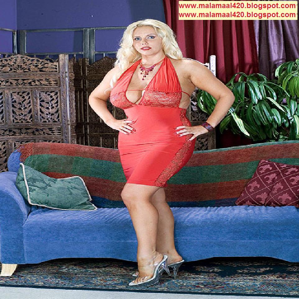 Nesha Jawani Ki: Karen Fisher Hot & Sexy In Tight Red Bra