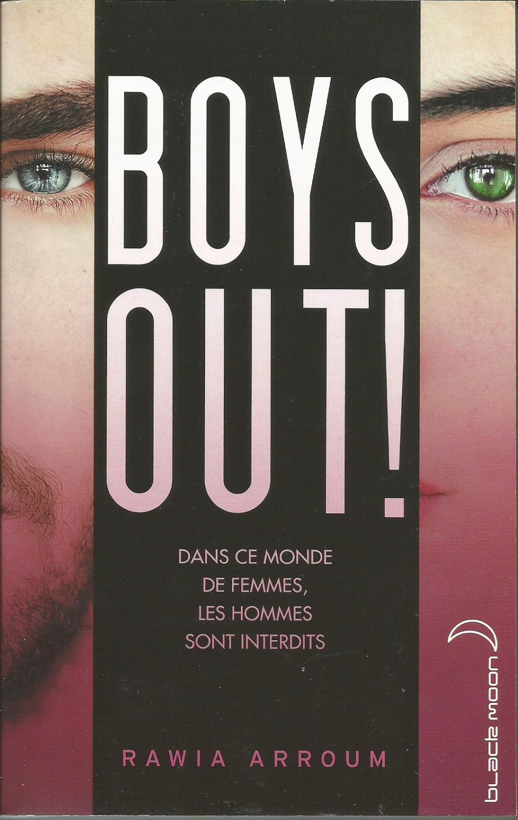 BOYS OUT ! - Rawia Arroum cover couverture