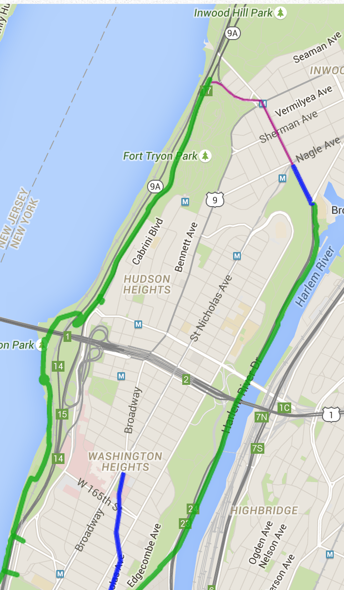 The High Bridge -- Its Past, Present & Future: Bicycle Routes in ...