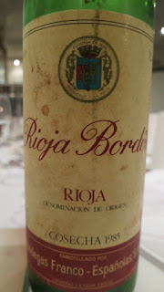 Rioja Bordón Gran Reserva 1985 - DO Rioja, Spain (89 pts)