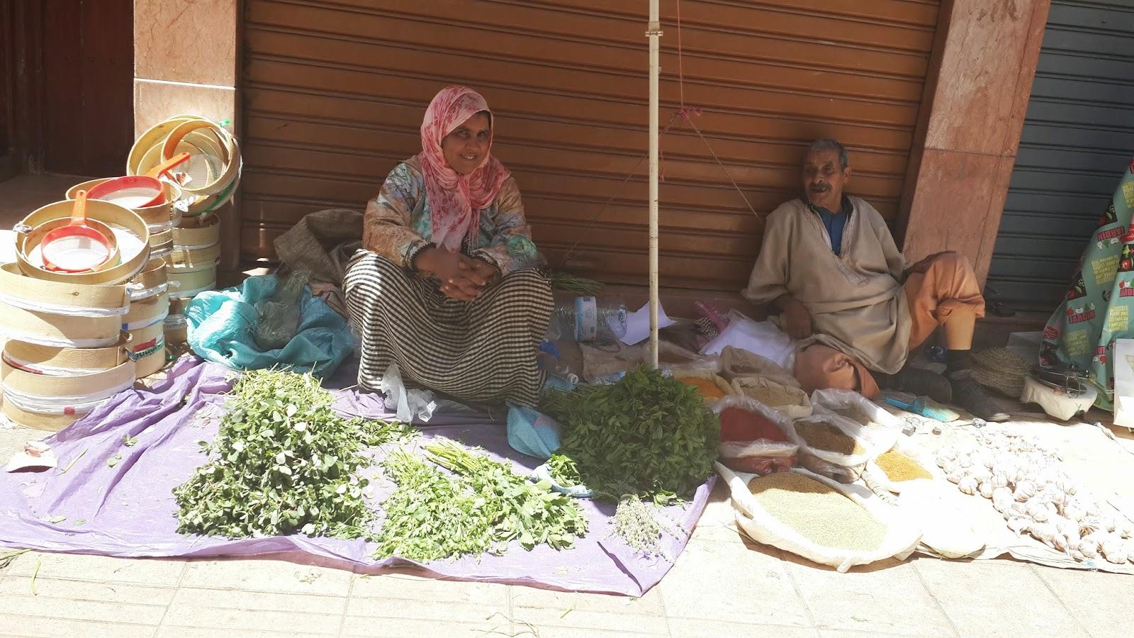 Market in Casablanca