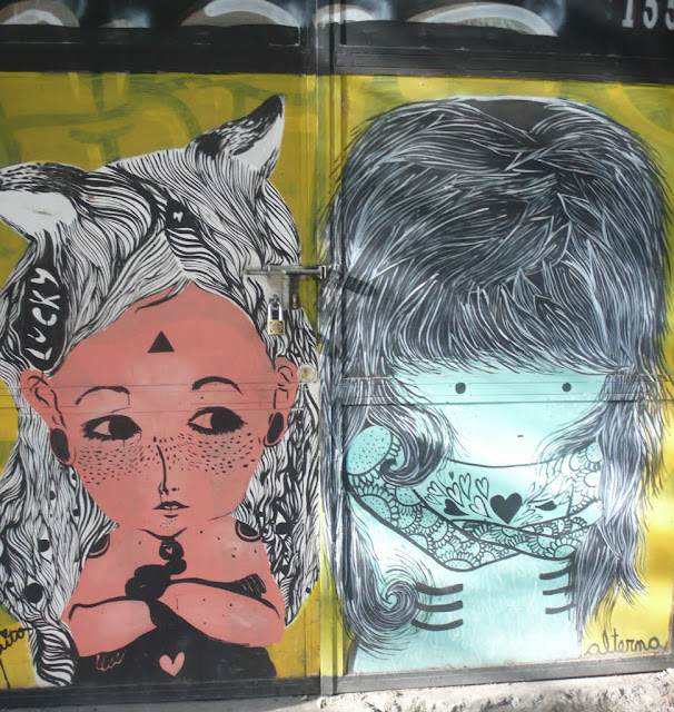 street art santiago de chile bellavista arte callejero by alterna