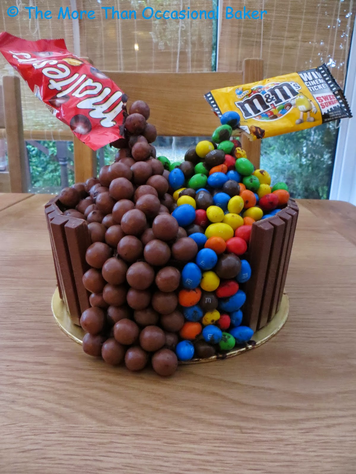 Floating Malteser cake