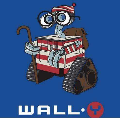 No encontramos a Wally porque ahora es Wall·Y