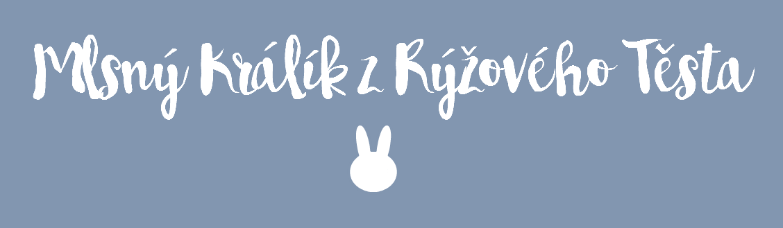 Mlsný králík z rýžového těsta