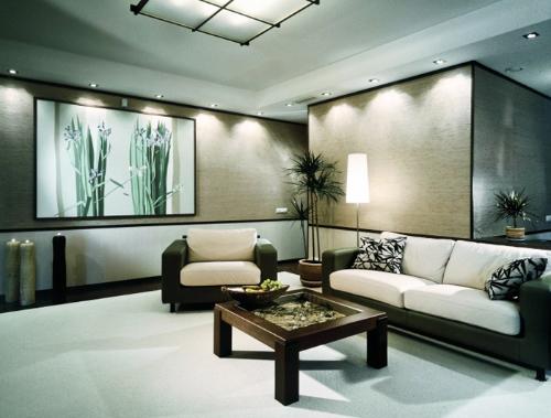 Interior Design 2009 Latest Modern Living Room Decorating