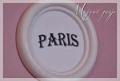 Francuski napis Paris