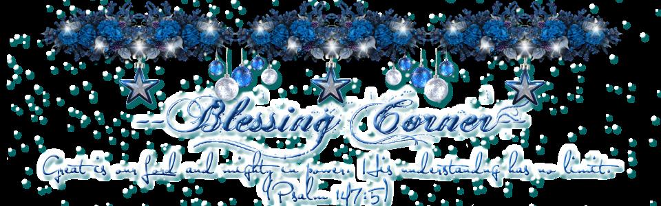 --Blessing Corner--