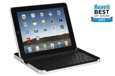 Black iPad2 with bluetooth keyboard